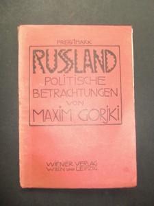 Rußland. Politische Betrachtungen. 1.-3.Tausend.