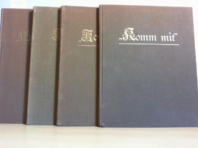 KOMM MIT! Wochenschrift für junge Mädchen. 1930, 1931, 1933, 1934. (Jg. 33, 34, 36, 37)