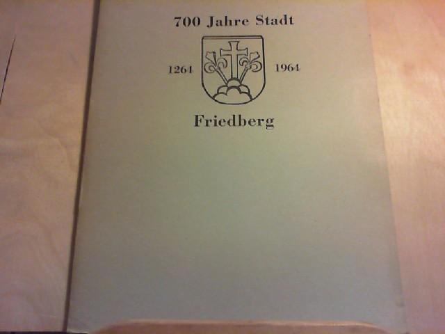 """FRIEDBERG. Altbaiern in Schwaben. 1264 - 1964. Sonderausgabe der Zeitschrift """"Bayerland"""" zu der 700jährigen Stadtfeier."""