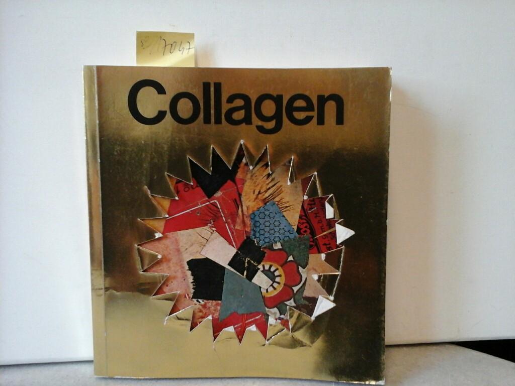 """COLLAGEN AUS SECHS JAHRZEHNTEN. Ausstellungskatalog """"Frankfurter Kunstverein"""", 1968."""