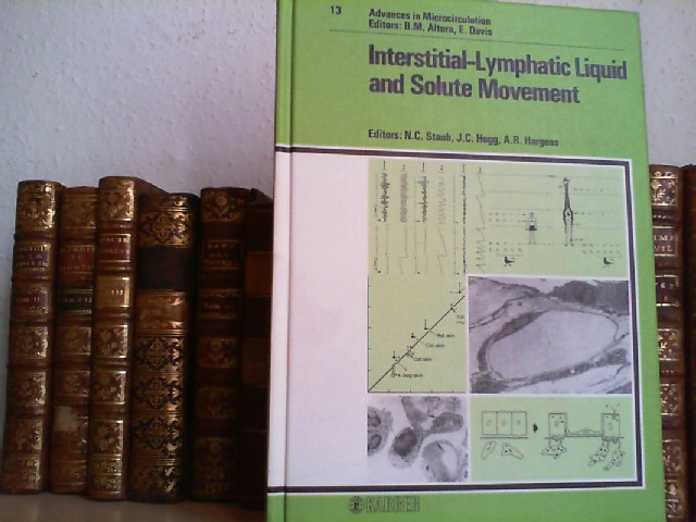 Interstitial-Lymphatic Liquid and Solute Movement.