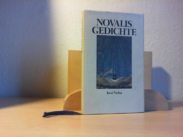GEDICHTE. Die Lehrlinge zu Sais; Dialogen und Monolog. Mit einem Nachwort von Jochen Hörisch.