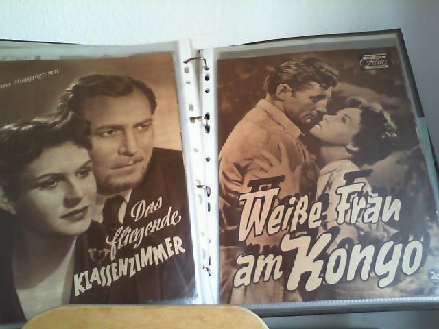 ILLUSTRIERTE FILM-BÜHNE; DAS NEUE FILM-PROGRAMM. Maske in Blau; Emil und die Detektive; Don Camillo