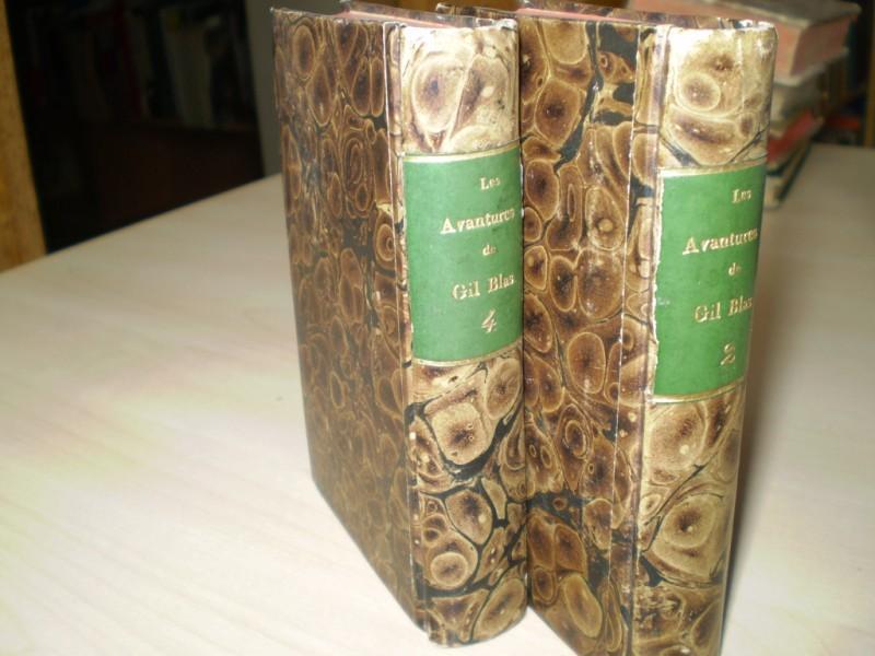 LES AVANTURES DE GIL BLAS DE SANTILLANE. Nouvelle Edition avec des Fugures.