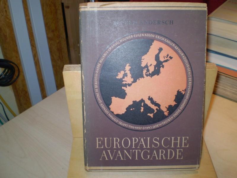 Andersch, Alfred (Hg.): Europäische Avantgarde. EA.