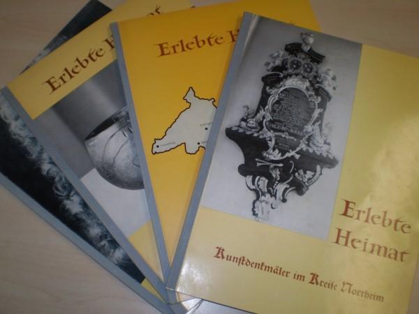 Erlebte Heimat. Hg. von der Kreisbildstelle Northeim. 4 Bände. 1961-69. EA.