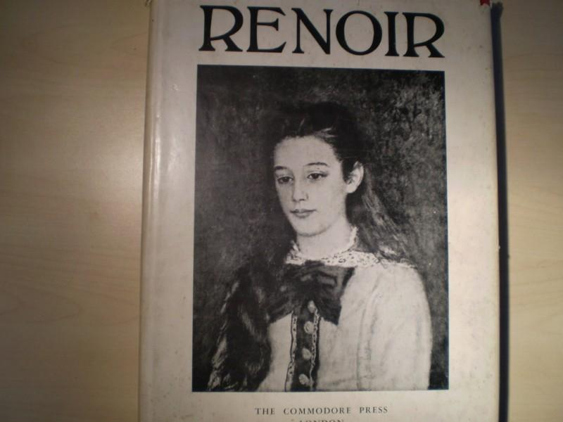 Renoir. Translated from the French by George Frederic Lees. 1st English edition. Englische EA.