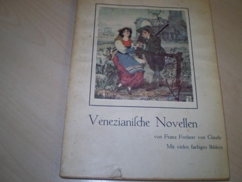 Venezianische Novellen. EA.