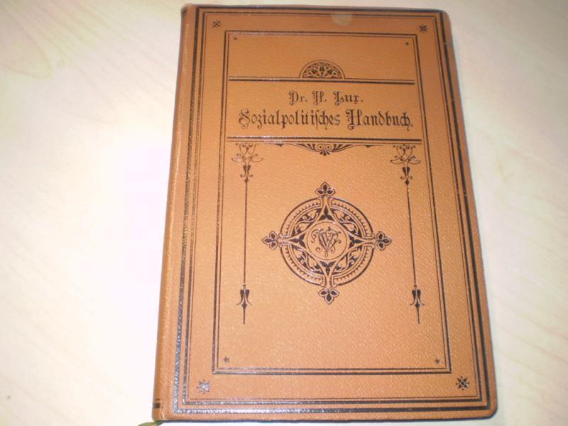 Sozialpolitisches Handbuch. EA.