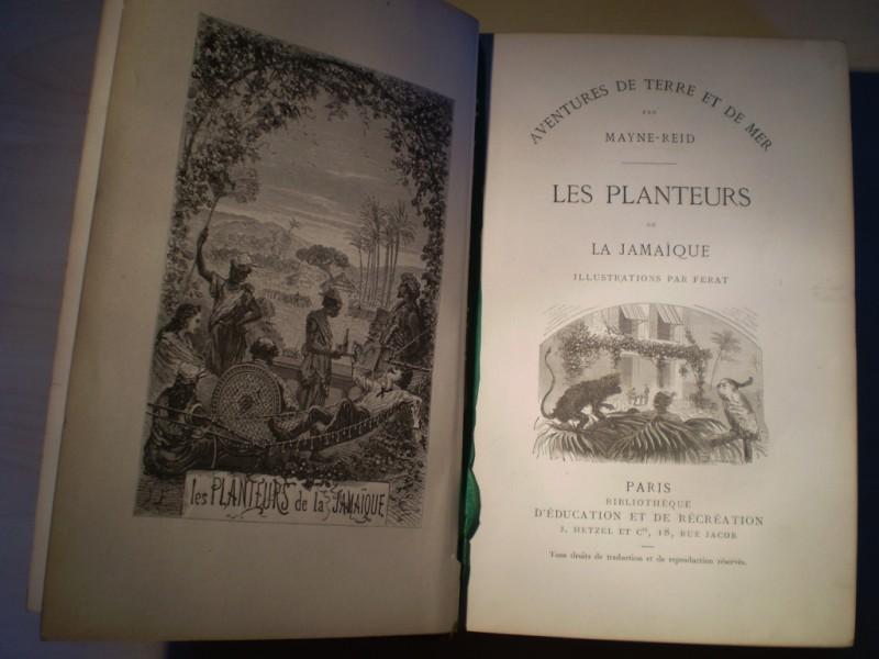 Les planteurs de la Jamaique. Franz. EA.