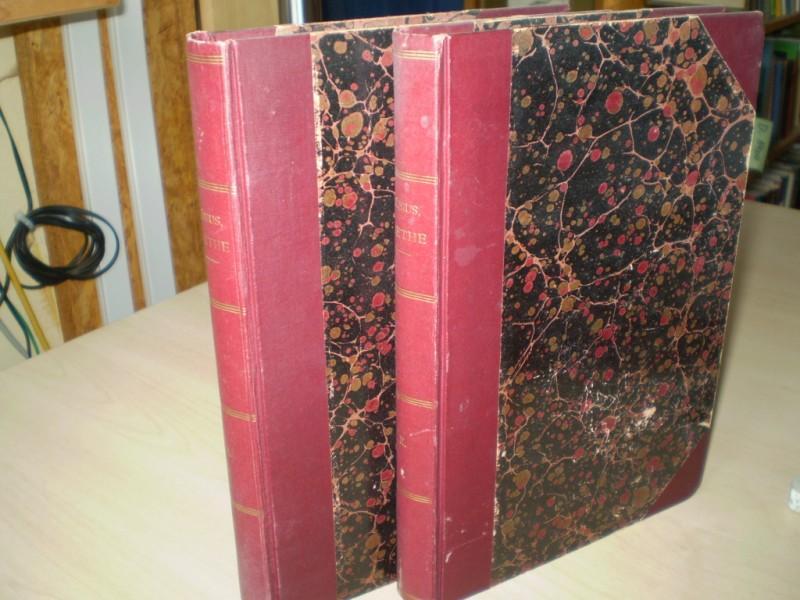 Möbius, P. J.: Goethe. (= Ausgewählte Werke II, III). 2 Bände. EA.