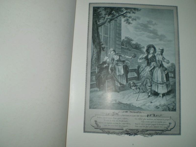 Trois suites d´estamps pour servir a l´histoire des modes et du costume des Francais dans le dix-huitime siecle. Nach den Originalausgaben hg. und eingeleitet von Max von Boehn. 1. Auflage.
