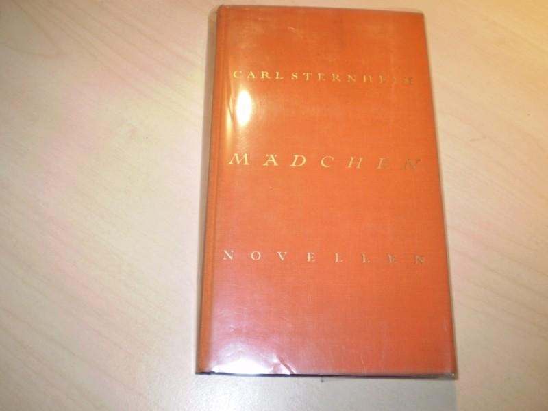 Sternheim, Carl: Mädchen. Novellen (= Chronik von des zwanzigsten Jahrhunderts Beginn, Bd. 1. Es erschienen noch Bd. 2: Napoleon u. Bd. 3: Busekow, 1927 u. 1928). EA.