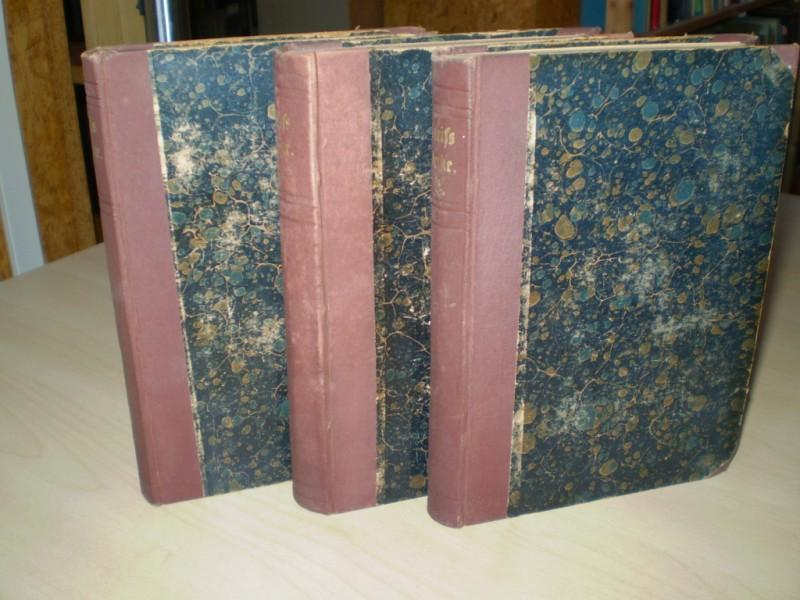Martin Greifs GESAMMELTE WERKE. (Drei Bände). Band 1: Gedichte / Band 2: Dramen, Erster Teil / Band 3: Dramen, Zweiter Teil. Sechste, reich vermehrte Auflage.