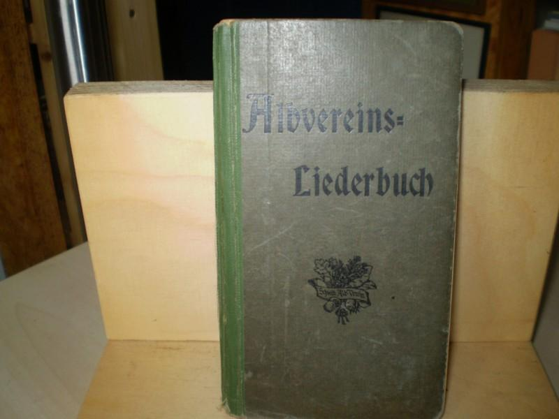 ALBVEREINS-LIEDERBUCH. XIII. Auflage.