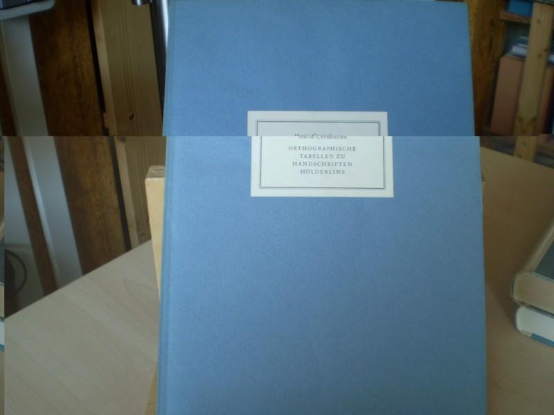 Hölderlin-Bibliographie. 1938 - 1950. EA.