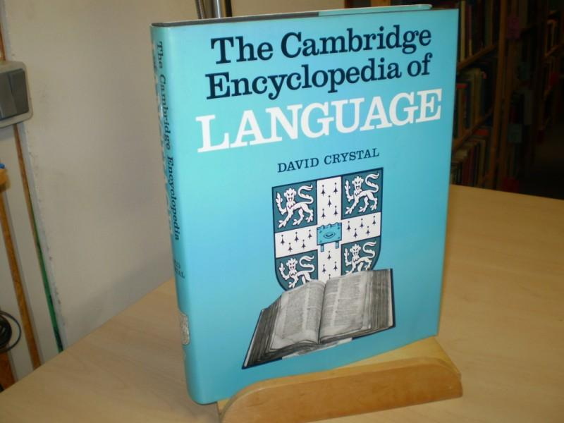 The Cambridge Encyclopedia of Language. Text in englisch.