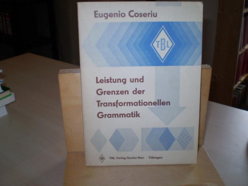 Coseriu, Eugenio (Hg.: Gunter Narr) Leistung und Grenzen der transformationellen Grammatik. Vorlesung gehalten im Sommer-Semester 1974 an der Universität Tübingen.