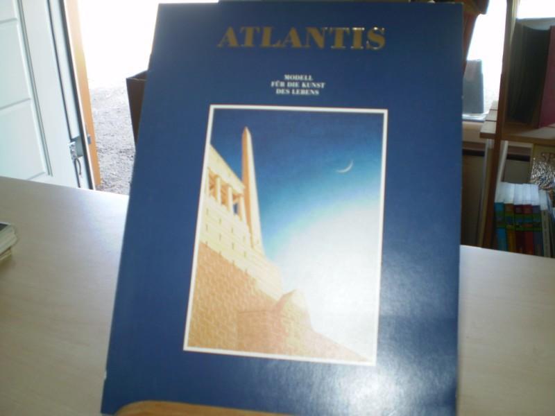 ATLANTIS. Modell für die Kunst des Lebens; Katalog zur Ausstellung des Deutschen Architekturmuseums Frankfurt am Main vom 12.12. 1987 bis 17.1. 1988.