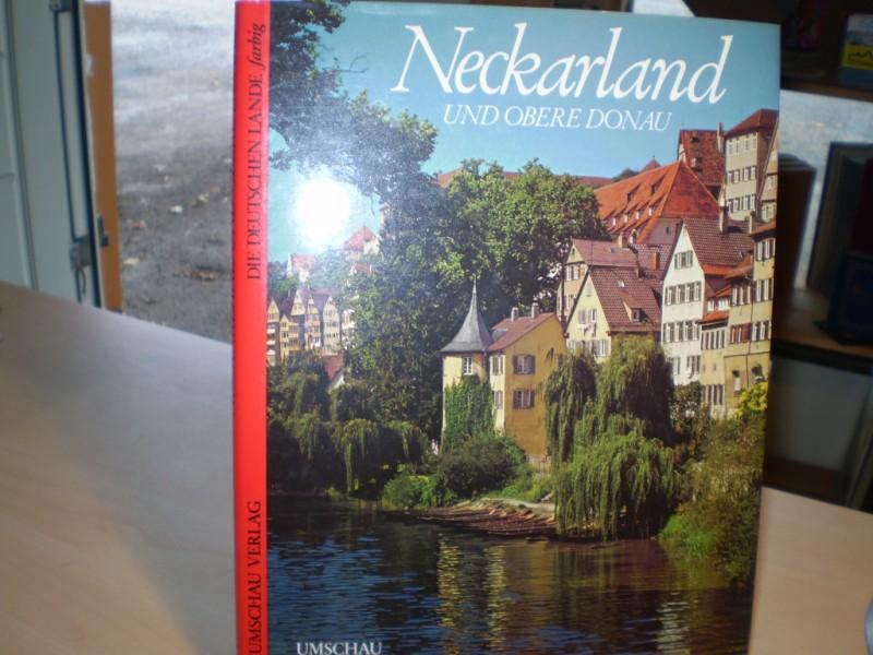 NECKARLAND UND OBERE DONAU. Die Deutschen Lande farbig.