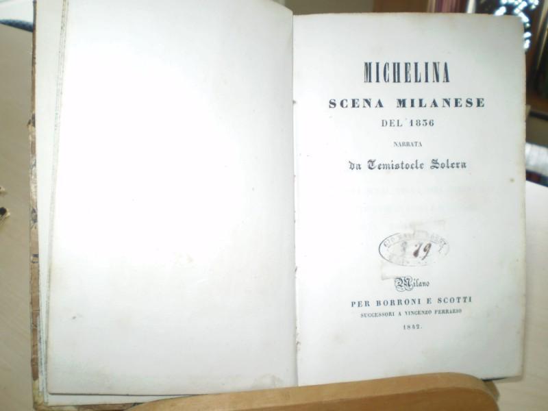 Michelina scena milanese del 1836.