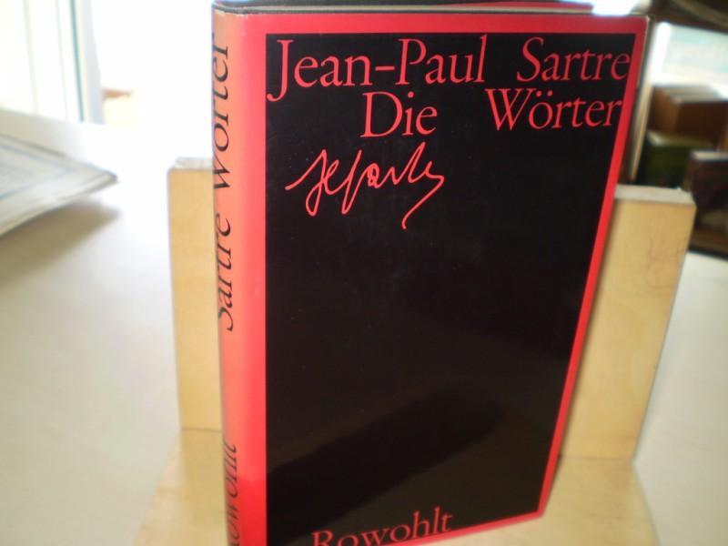 Sartre, Jean-Paul. DIE WÖRTER. 36.-50. Tsd.
