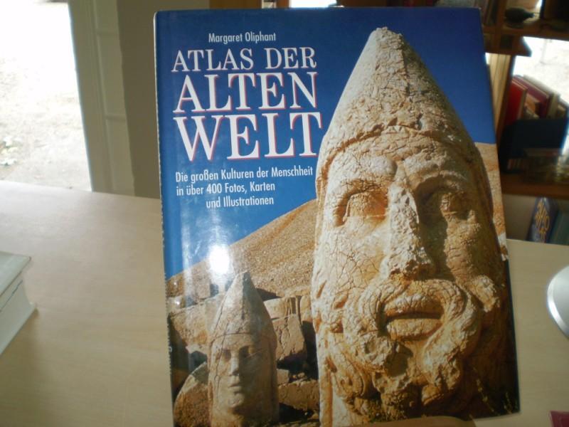 ATLAS DER ALTEN WELT. Die großen Kulturen der Menschheit in über 400 Fotos, Karten und illustrationen.