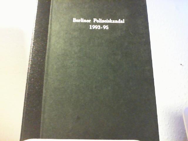 """HILDEBRANDT, HELMUT: 3. Untersuchungsausschuss: """"Aufklärung von Vorgängen bei der Freiwilligen Polizeireserve (FPR)"""" Bericht. Drucksache 12/5187"""