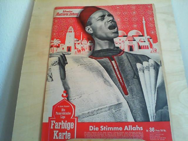 Schweizer Illustrierte Zeitung Nr. 36, 3. September 1947, 36. Jahrgang