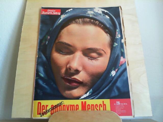 Schweizer Illustrierte Zeitung Nr. 26, 27. Juni 1951, 40. Jahrgang