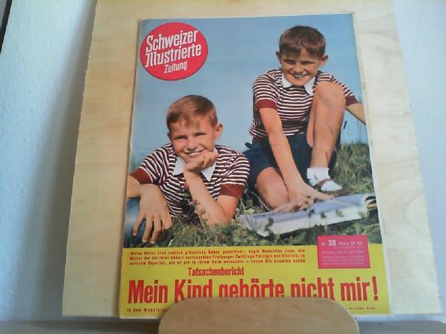 Schweizer Illustrierte Zeitung Nr. 30, 22. Juli 1952, 41. Jahrgang
