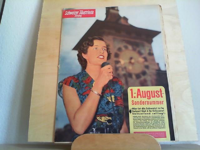 Schweizer Illustrierte Zeitung Nr. 31, 29. Juli 1952, 41. Jahrgang