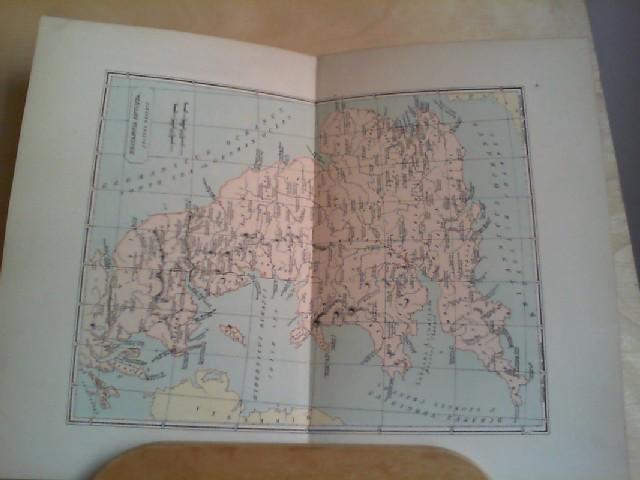 Grafik - Landkarte BRITANNIA ANTIQUA (Ancient Britain), coloriert 1 Grafik-Landkarte aus