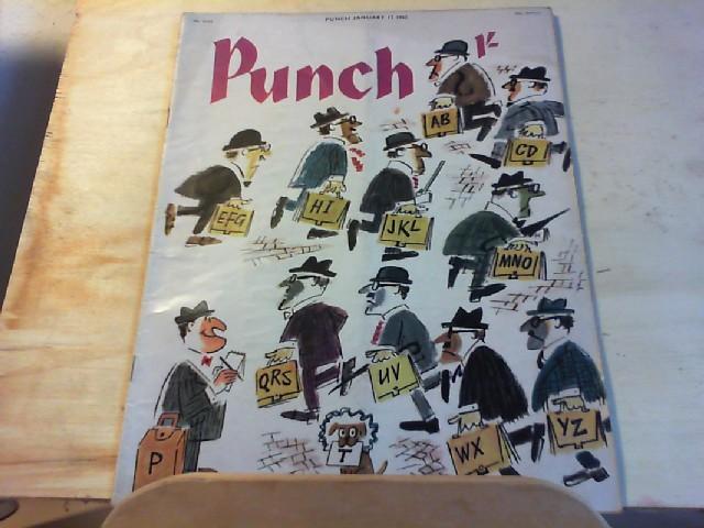 PUNCH. No. 6332, Januar 1962, Vol. 242.
