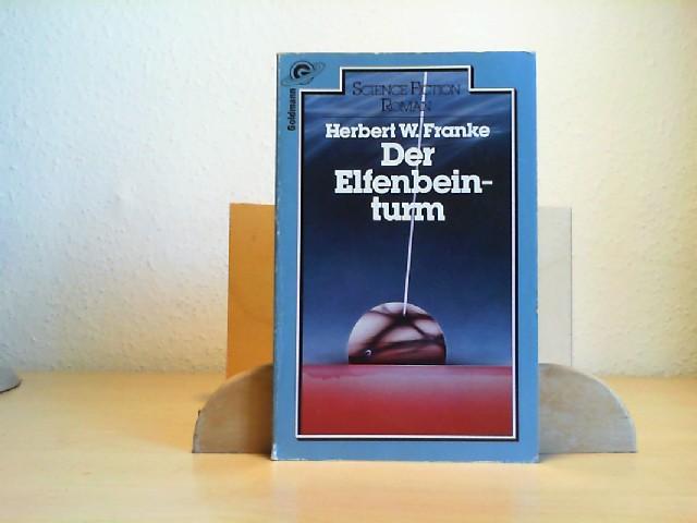 Franke, Herbert W. (Verfasser): Der Elfenbeinturm : Science-fiction-Roman. Herbert W. Franke / Ein Goldmann-Taschenbuch ; 23049 : Science fiction 2. Aufl., vom Autor überarb., 21. - 30. Tsd.