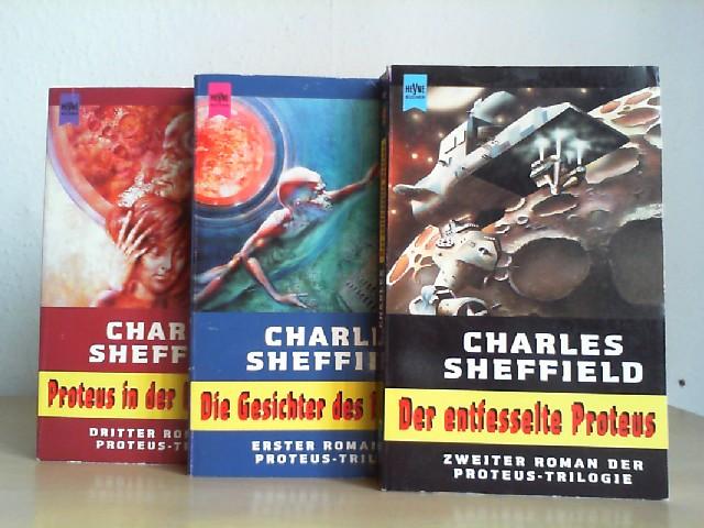 Proteus-Trilogie; Proteus in der Unterwelt; Die Gesichter des Proteus; Der entfesselte Proteus. Heyne-Science-fiction & Fantasy