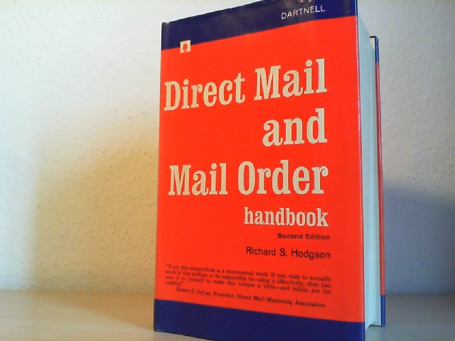 DIRECT MAIL AND MAIL ORDER HANDBOOK. Second Edition.