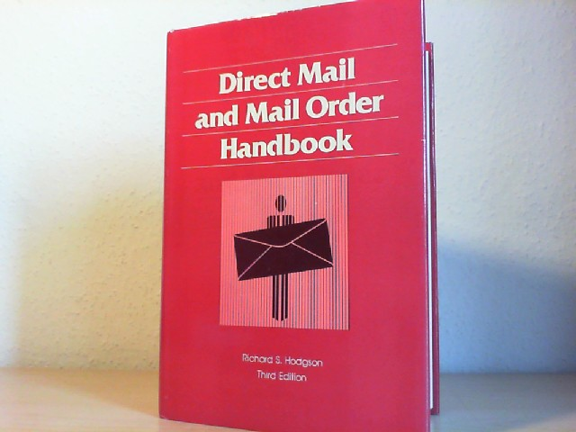 DIRECT MAIL AND MAIL ORDER HANDBOOK. Third Edition.