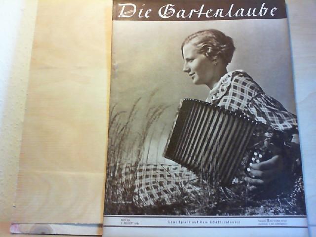 DIE GARTENLAUBE. 1936,  Heft 28.