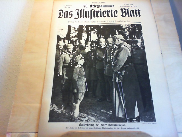 Das Illustrierte Blatt. 1916  No. 22 IV. Jahrgang.