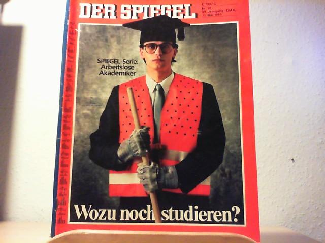 Der Spiegel. 13. Mai 1985, 39. Jahrgang. Nr. 20. Das deutsche Nachrichtenmagazin.