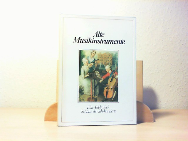 """Alte Musikinstrumente : Werkzeuge d. Polyphonie; [nach """"Gli strumenti musicali nell"""