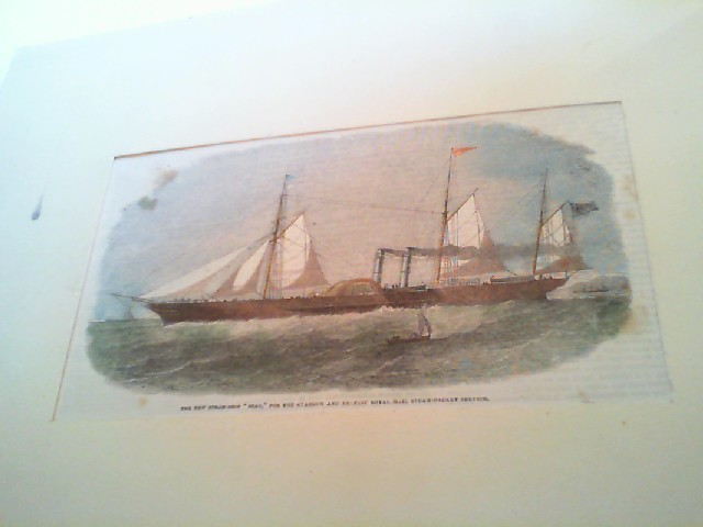 Grafik (Schiffe): The New Steam-Ship