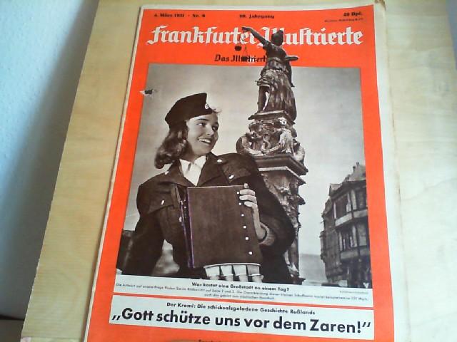 Frankfurter Illustrierte. 4. März 1951, Nr. 9, 39. Jahrgang. Das Illustrierte Blatt.