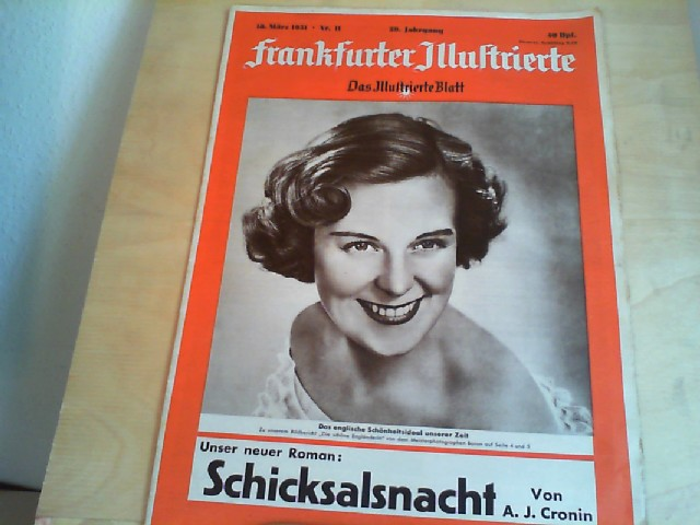 Frankfurter Illustrierte. 18. März 1951, Nr. 11, 39. Jahrgang. Das Illustrierte Blatt.