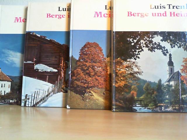 Berge im Schnee; Berge und Heimat; Meine Berge; Mein Südtirol. 4 Bände.
