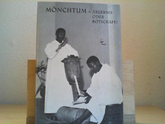 Bogler, Theodor: Mönchtum - Ärgernis oder Botschaft? Gesammelte Aufsätze. Laacher Hefte, Heft 43.