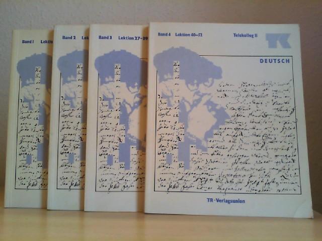 Telekolleg; Teil: 2. Deutsch / Bd. 1 - 4., Lerneinheit 1 - 52 / 4 Bände.