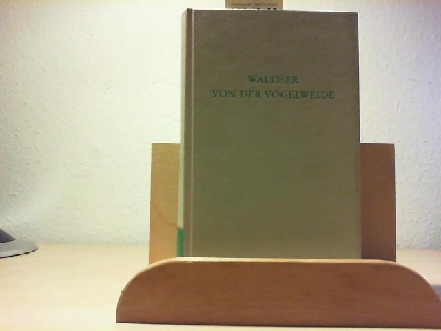 Walther von der Vogelweide.