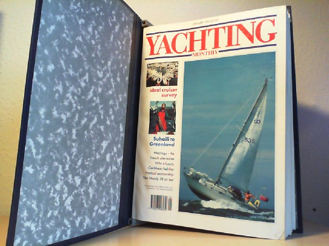 Yachting. Monthly. 1992.  Vol. 154. No.1025 - January, No.1026 - February, No.1027 - March, No.1028 - April, No.1029 - May, No.1030 - June. Herausgegeben von Lynn Hall. No. 1025 - 1030. 6 Hefte